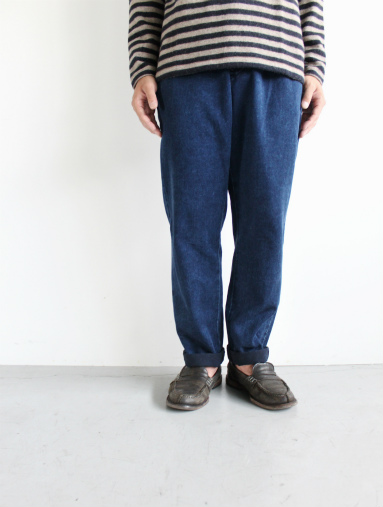 Honor gathering Heavy Cotton Tencel Twill Easy Trousers_b0139281_15475072.jpg