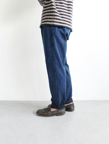 Honor gathering Heavy Cotton Tencel Twill Easy Trousers_b0139281_15475593.jpg
