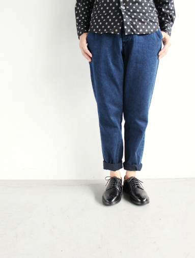 Honor gathering Heavy Cotton Tencel Twill Easy Trousers_b0139281_1548241.jpg