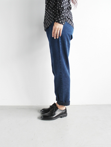 Honor gathering Heavy Cotton Tencel Twill Easy Trousers_b0139281_1548874.jpg
