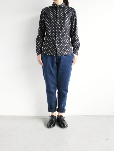 Honor gathering Heavy Cotton Tencel Twill Easy Trousers_b0139281_1549018.jpg