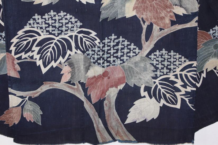 古布 木綿 夜着 麻 Cotton hemp Yogi Japanese Antique Textile_c0325097_8291143.jpg
