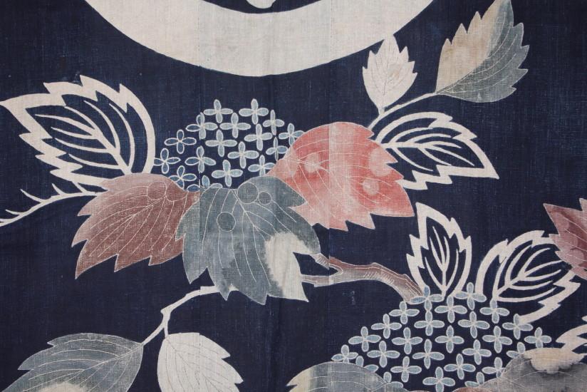 古布 木綿 夜着 麻 Cotton hemp Yogi Japanese Antique Textile_c0325097_8291537.jpg