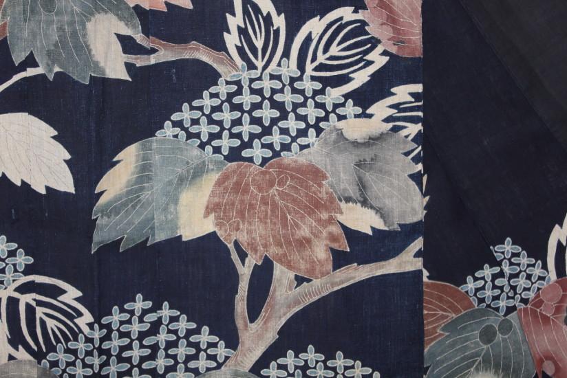 古布 木綿 夜着 麻 Cotton hemp Yogi Japanese Antique Textile_c0325097_8292598.jpg