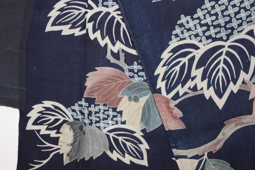 古布 木綿 夜着 麻 Cotton hemp Yogi Japanese Antique Textile_c0325097_9211020.jpg