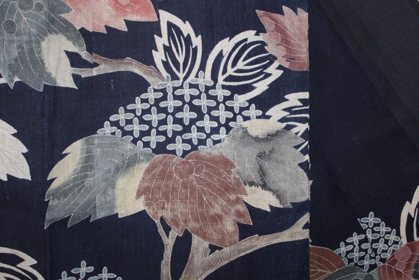 古布 木綿 夜着 麻 Cotton hemp Yogi Japanese Antique Textile_c0325097_9212242.jpg