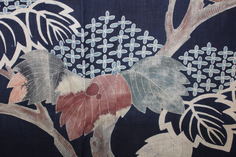 古布 木綿 夜着 麻 Cotton hemp Yogi Japanese Antique Textile_c0325097_9212923.jpg