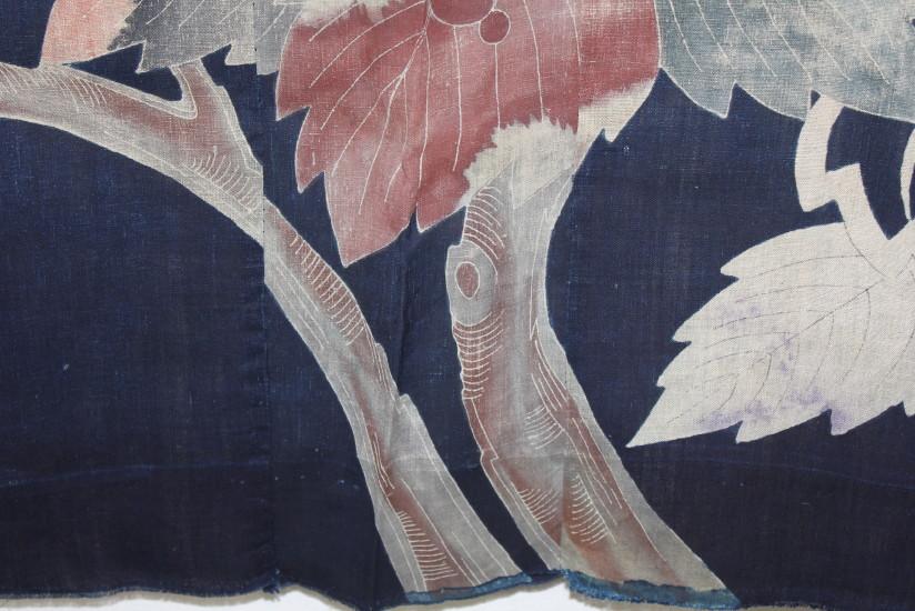 古布 木綿 夜着 麻 Cotton hemp Yogi Japanese Antique Textile_c0325097_9215436.jpg