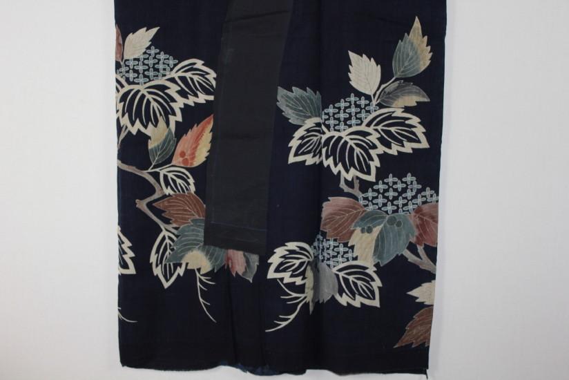 古布 木綿 夜着 麻 Cotton hemp Yogi Japanese Antique Textile_c0325097_9245532.jpg