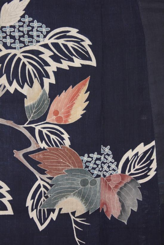 古布 木綿 夜着 麻 Cotton hemp Yogi Japanese Antique Textile_c0325097_9252387.jpg