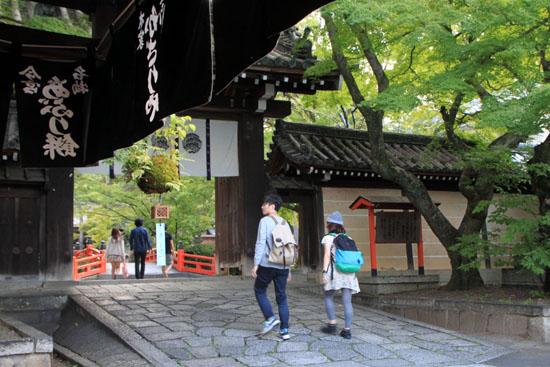 あぶり餅で一休み 今宮神社_e0048413_18461421.jpg