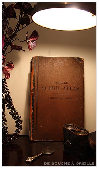 SCHUL-ATLAS ドイツ製の古い地図帳_d0184921_13355435.jpg