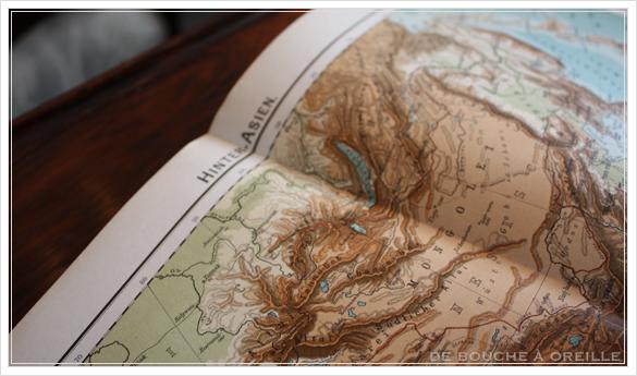SCHUL-ATLAS ドイツ製の古い地図帳_d0184921_13573325.jpg