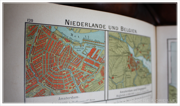 SCHUL-ATLAS ドイツ製の古い地図帳_d0184921_14122399.jpg