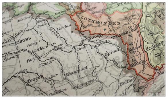 SCHUL-ATLAS ドイツ製の古い地図帳_d0184921_148059.jpg