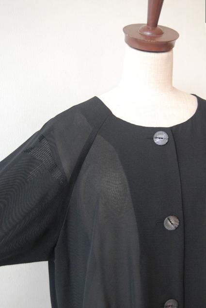 着物リメイク・絽で作ったブラウスコート_d0127925_1239930.jpg