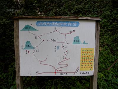 緩木山&越敷岳でシノノメソウ観賞!_e0272335_1819622.jpg
