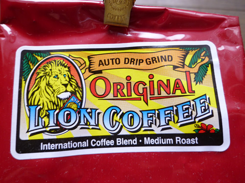 LION COFFEE ORIGINAL LION COFFEE_c0152767_204521.jpg