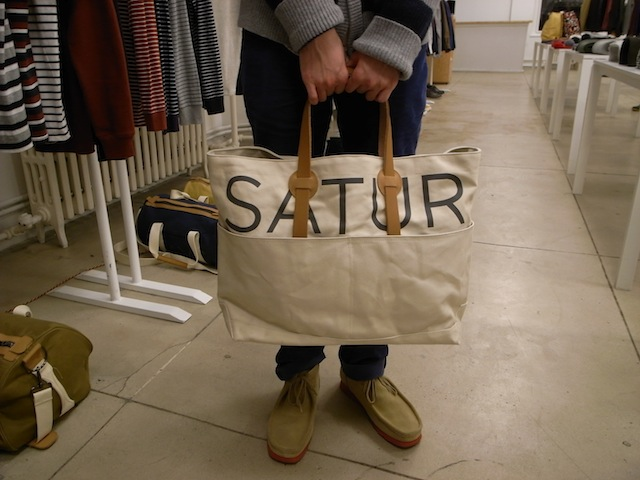 SATURDAYS SURF NYC REECE TOTE NAVY:SORRY,SOLD OUT!_f0111683_12115155.jpg