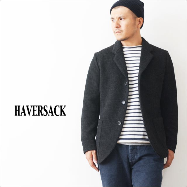 Haver Sack [ハバーサック] HERRINGBONE JACQUARD TAILORED JACKET [471440] MEN\'S _f0051306_1804184.jpg