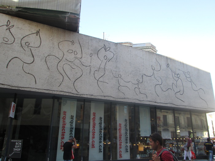 バルセロナ 旧市街(7月10日)_c0100195_15505691.jpg