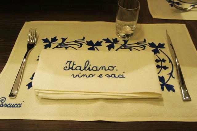 新イタリアンレストラン『イタリアーノプント』オープン。トウハラがデザイン関係担当させていただきました。_c0061896_18114278.jpg