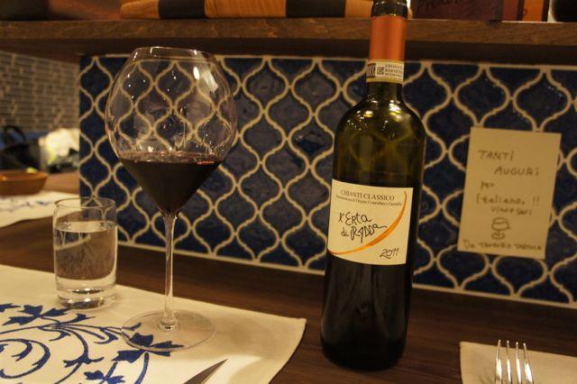 新イタリアンレストラン『イタリアーノプント』オープン。トウハラがデザイン関係担当させていただきました。_c0061896_18172011.jpg