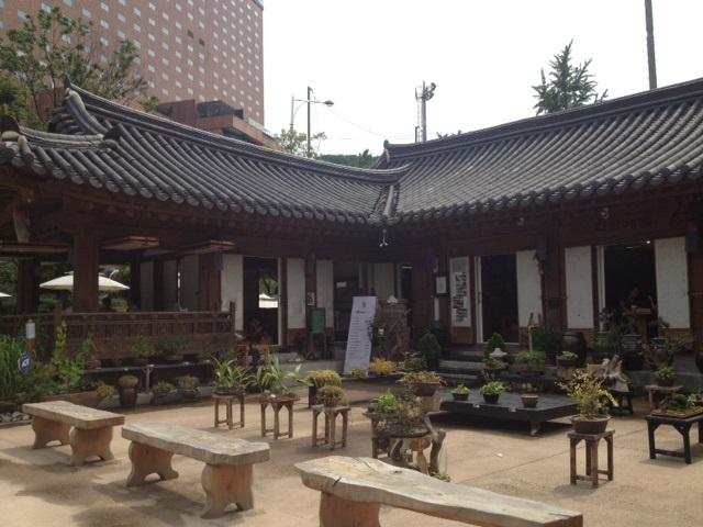 ソウルでお花のピビンパッを食べる_b0060363_222716.jpg