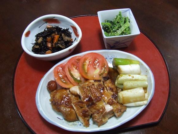 鶏もも肉の照り煮_f0019498_23375020.jpg