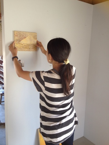 大塚麻美作品展 「山に聞いてみる」/ ぎゃらりーマドベ_a0251920_901474.jpg