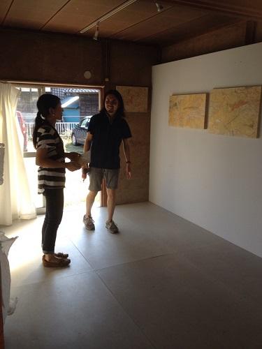大塚麻美作品展 「山に聞いてみる」/ ぎゃらりーマドベ_a0251920_902911.jpg