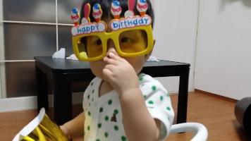 一歳の誕生日!!_e0176128_1249576.jpg