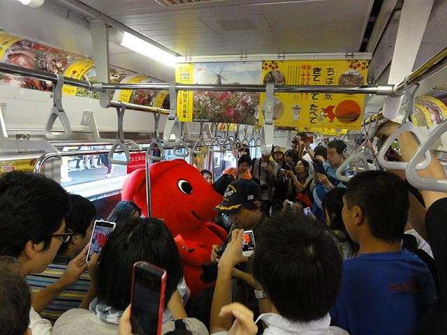 臨時列車 チーバくんトレインに乗ろう! (8/31)_b0006870_221662.jpg