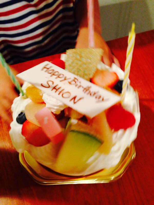 Happy 3rd birthday for Shion!_e0253026_0345257.jpg
