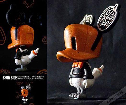 Pumpkin Cap Duck by Shon_e0118156_17191890.jpg