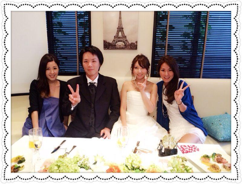 結婚パーティー♩_c0151965_211948.jpg