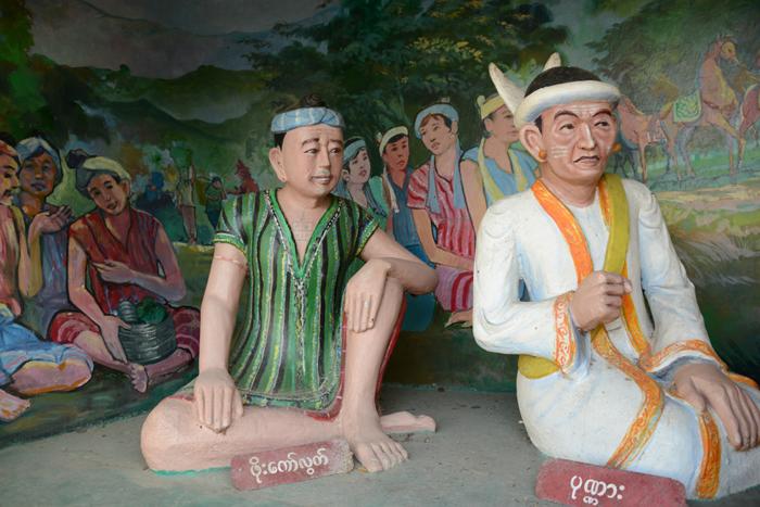 ミャンマーの珍スポット!ゴールデンロック写真_e0171573_21452975.jpg