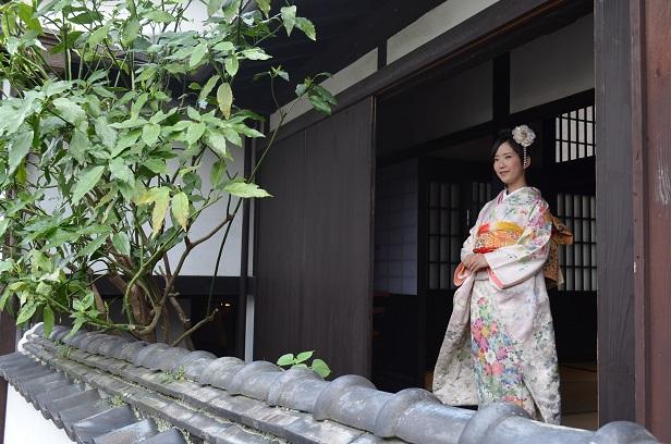 成人式前撮り お嬢様の晴れ女パワー♪_d0230676_17263514.jpg