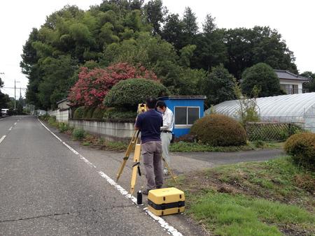地盤調査&測量(Kb邸)_d0086022_19418.jpg