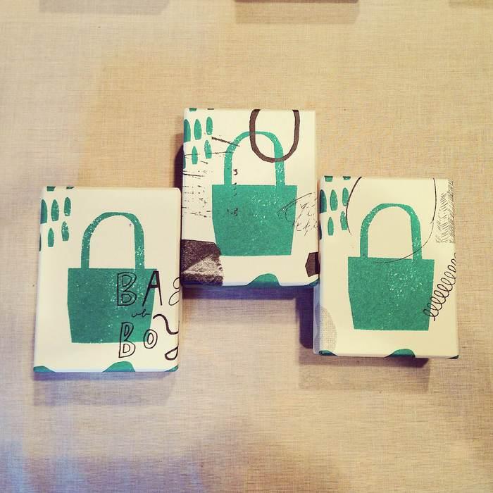 ムツロマサコさんのバッグになりたい箱_d0210537_17221888.jpg