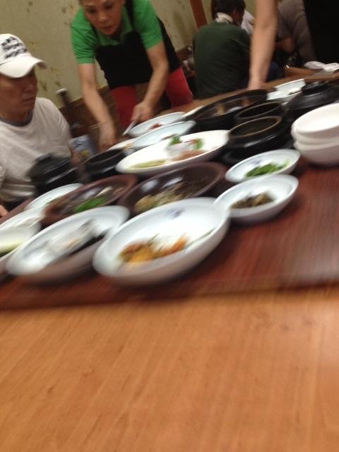 利川で「白飯定食」と「廣州窯(カンジュヨウ)」_b0060363_2261032.jpg