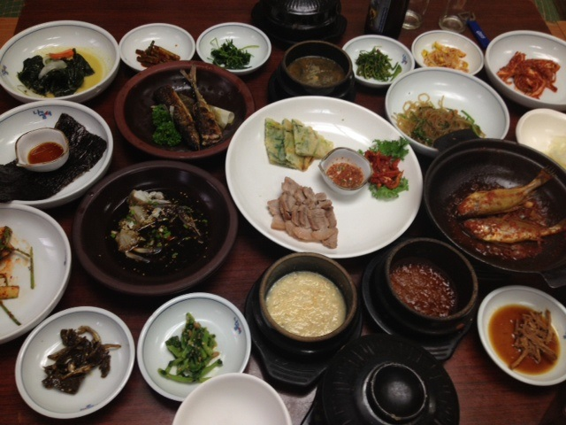 利川で「白飯定食」と「廣州窯(カンジュヨウ)」_b0060363_2262511.jpg