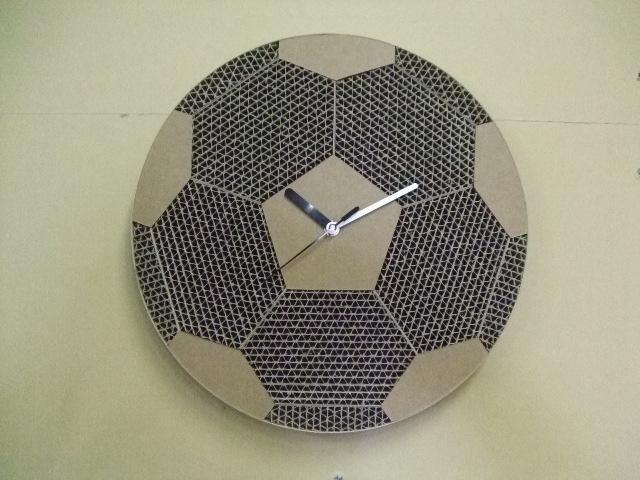 段クロック サッカーボール_e0189870_17363488.jpg