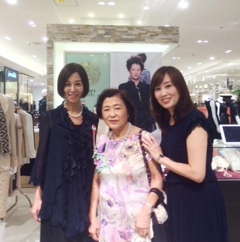 阪急うめだ本店「haori de TiTi」期間限定shop終了_a0138976_2063849.jpg