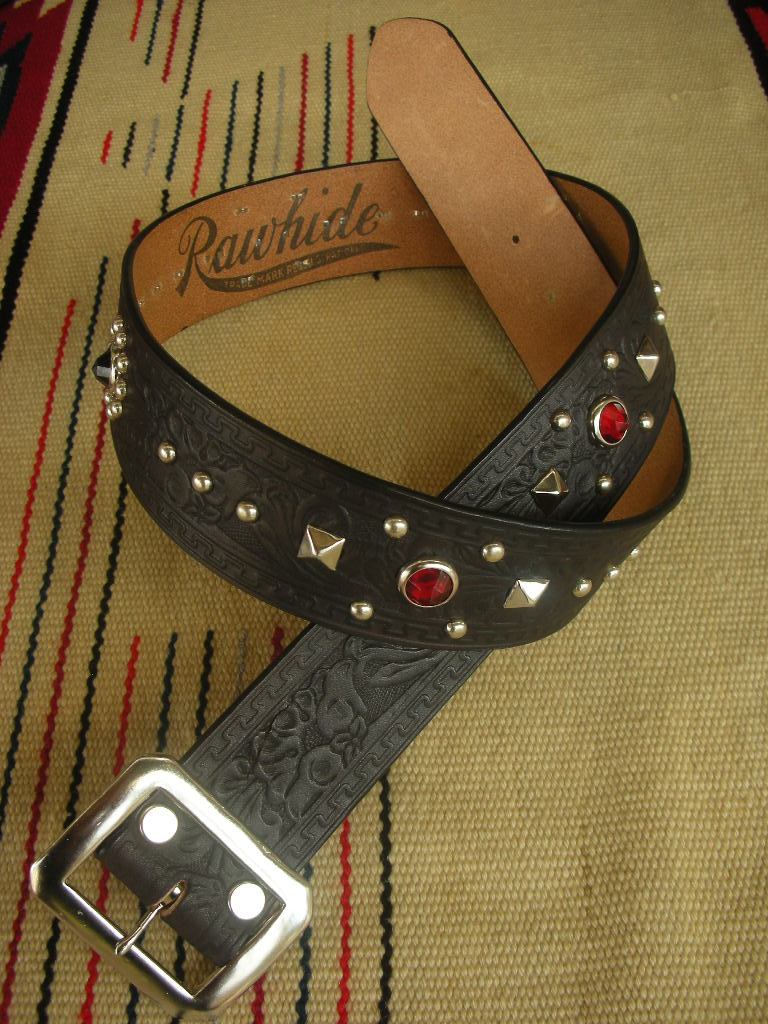 RAWHIDE BELT Lot-101 1947\'s Marlon Brando Model_c0187684_126396.jpg