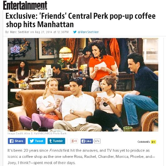 ドラマ『フレンズ』のセントラルパーク・カフェがNYに期間限定オープンへ!!!_b0007805_211028.jpg