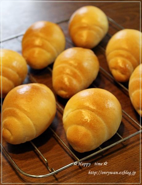 豚肉とピーマンの味噌炒め弁当とバターロール♪_f0348032_18230735.jpg