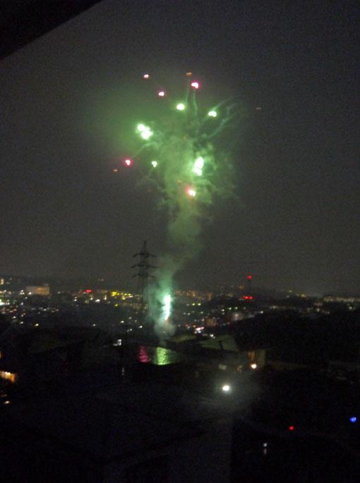 チョー贅沢!自宅から大船高校の花火大会を見物9・6_c0014967_2130325.jpg