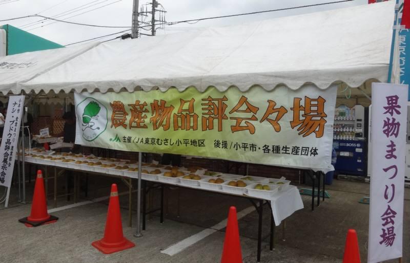 果物まつりとナシ・ブドウ品評会_f0059673_21352385.jpg
