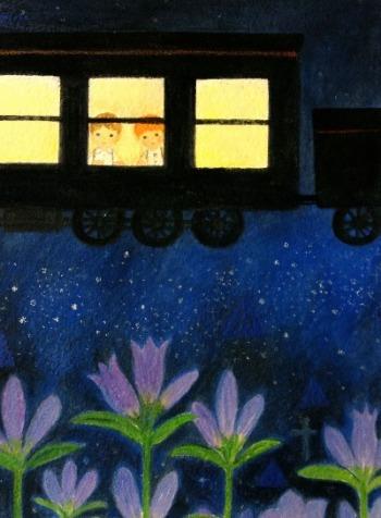 「銀河鉄道の夜から聴こえてくるもの~ふたたび~」展 ☆作品紹介_c0203401_002381.jpg